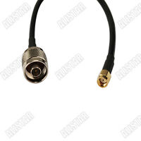 RF pigtail cable RP-SMA plug to N type male plug RG58 coax 1m for wifi antenna