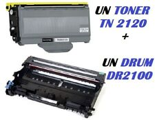 CARTUCCIA PER BROTHER DCP-7045N MFC-7320 MFC-7340N TONER TN2120 + DRUM DR2100