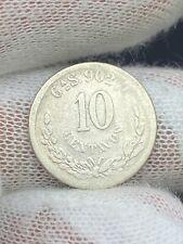 1892 Mexico 10 Centavos