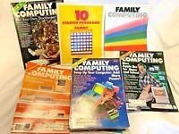 Vintage FAMILY COMPUTING Magazines Lot of 25, 4/1985-1/1987 (minus Feb. '87)