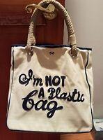 3407691a314 Anya Hindmarch - I m NOT A plastic Bag - Shopping Tote Bag Girl Lady ...