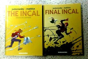 == HUMANOIDS GRAPHIC NOVEL SERIES SET,2 BOOKS,FINAL INCAL & THE INCAL,HARDCOVER