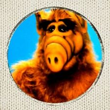 ALF Patch Picture Embroidered Border TV Series Alien Life Form Tanner Family