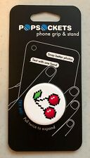 NEW Popsockets 8 Bit Digital Cherry Phone Grip Stand