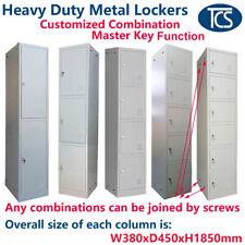 TCS Metal Lockers - Customized the Combination of Lockers - Alloy Locks & Keys