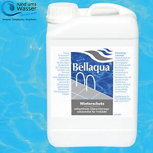 Bellaqua Winterschutz 3L Überwinterungsmittel Winterfluid Pool Bayrol