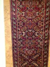 echter handgeknüpfter alter Orientteppich Kasak Schirwan 3,06 x 0,81 m  perfekt