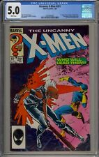 UNCANNY X-MEN #201 - CGC 5.0 - 1ST APP OF CABLE AS A BABY - 2032464001