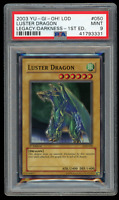 2003 YU-GI-Oh! Legacy of Darkness LOD-050 Luster Dragon 1st Edition-PSA 9 MINT