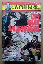 Western-Leihbuch:  Die Wyatt Earp Story:  Das Grab am Arkansas   (Z 1 +)