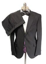 $1295 NWT OTTAVIO NUCCIO GALA Black 2Btn Slim Fit Tuxedo Suit 58 fits 42 / 44 R