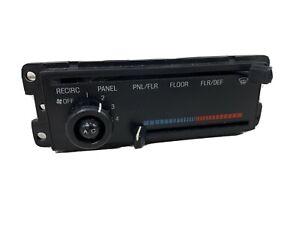 1991-1994 Escort & Tracer heater ac HVAC control switch panel heat A/C temp oem