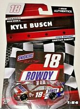 KYLE BUSCH '18 1/64 NASCAR AUTHENTICS #18 ROWDY SNICKERS TOYOTA CAMRY WAVE 3 HTF
