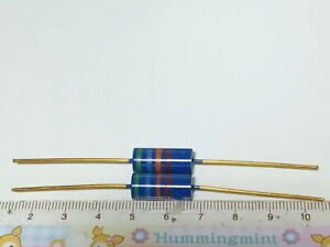 2 X MADE IN JAPAN RIKEN OHM RMG 56000 OHM 56K 1% 2W AUDIO GRADE CARBON RESISTOR