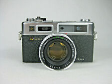 Yashica Electro 35 GSN w/ Leather Case, Battery & Cap