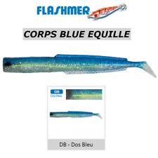 Leurre Flashmer 3 Corps Blue Equille 13 cm - dos Bleu DB alciumpeche