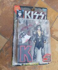 New McFarlane Kiss Rock Band Gene Simmons Guitar 1997 Action Figure Sealed