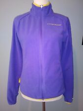 Nike Livestrong Fleece Full Zip Purple Jacket Size: S 4-6 Excellent Condition!