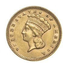 Choice AU/Unc $1.00 United States Gold Coin 1874 $1 Liberty Head - Historic *516