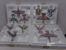 Lena Liu's Precious Jewels Heirloom Porcelain Collection Hummingbird Mobile