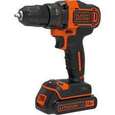 BLACK & DECKER 18V CORDLESS DRILL KIT TOOL DRIVER HOME TRADIE GARAGE HANDYMAN