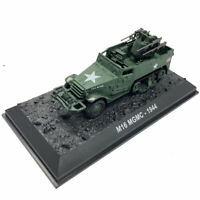WWII M16 MGMC 1944 1:72 USA Military Vehicle Model Car Diecast Gift Collection