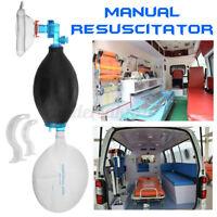 PVC Beatmungsbeutel Set Erste Hilfe Einfaches Manuell Atemschutzgerät Erwachsene