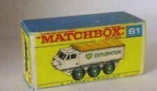 Repro box Matchbox 1:75 nº 61 Alvis Stalwart mayores