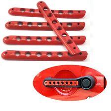 Red Handle Cover Trim Bar Moulding for 2007-2015 JEEP Wrangler JK 4 Door
