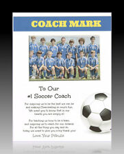 To Our #1 Soccerl Coach Thank Gift Personalized