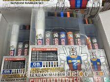 Mr. Hobby #GMS-122 Gundam Panel Line Accent Eraser COLOR PAINT SET 6pcs GUNZE