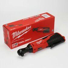 """Milwaukee 2457-20 M12 12V 3/8""""Cordless Ratchet - Red"""