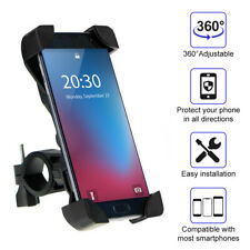 Universal Motorcycle Bike Bicycle Handlebar F Cell Phone Gps Stand Holder Mount