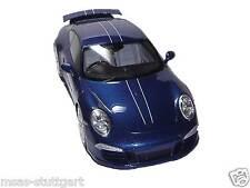 Porsche 911 991 carrera 4s 5 millón de 5m fans Blue resin GT Spirit 1:18 nueva de fábrica