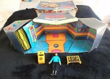 VINTAGE MEGO STAR TREK USS ENTERPRISE ACTION PLAYSET  SPOCK FIGURE  ORIGINAL BOX