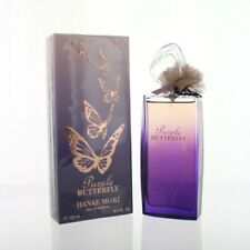 Purple Butterfly 3.4 Oz Eau De Parfum Spray by Hanae Mori NEW Box for Women