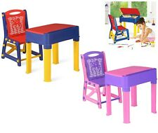 Study Table and chair for kids children Plastic Furniture Indoor outdoor