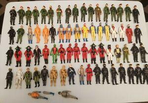 Vintage Action Force GI Joe 68+ Figure bundle 1980s