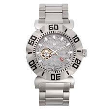 Croton Men's CA301284SSGY Vortex Automatic Open Heart Window 48mm Watch