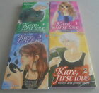 KAHO MIYASAKA / KARE FIRST LOVE..Lot 4 Mangas Tome 1 à 4 Comme neuf sous jaquet