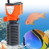 MINI 3 IN 1 ULTRA-SILENCE AQUARIUM FISH TANK OXYGEN SUBMERSIBLE PUMP FILTER KIT