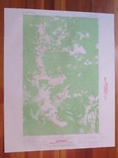 Northwest Peak Montana 1966 Original Vintage USGS Topo Map