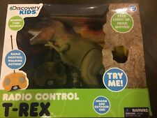 Discovery Kids RC T-Rex T Rex Radio Controlled Animated Action Dinosaur NIB