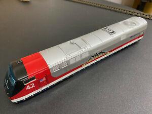 HO Amtrak p42 veterans unit shell #42 Athearn