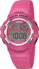 Lorus Ladies/Girls Pink Digital Sports Watch