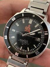 RARE Vintage Seiko Royal Army Diver Stainless Steel 7005-8140
