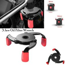 1X Universal Car 3 Jaw 2 Ways Oil Filter Wrench Adjustable Spanner Remover Tool