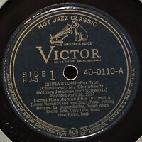 Lionel Hampton China Stomp 78 Hot Jazz Stompology Cootie Williams Johnny Hodges