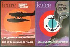 ICARE MAGAZINE N° 60 + 61- 1939-40 LA BATAILLE DE FRANCE VOL 1 + 2 - AERONAVALE