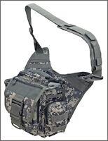 EXTREME TACTICAL MESSENGER BAG - ACU DIGITAL CAMO 1000 DENIER FABRIC MATERIAL